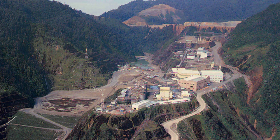 Ok Tedi Mine Water Supply