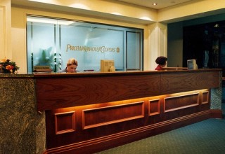 PricewaterhouseCoopers Fit-out
