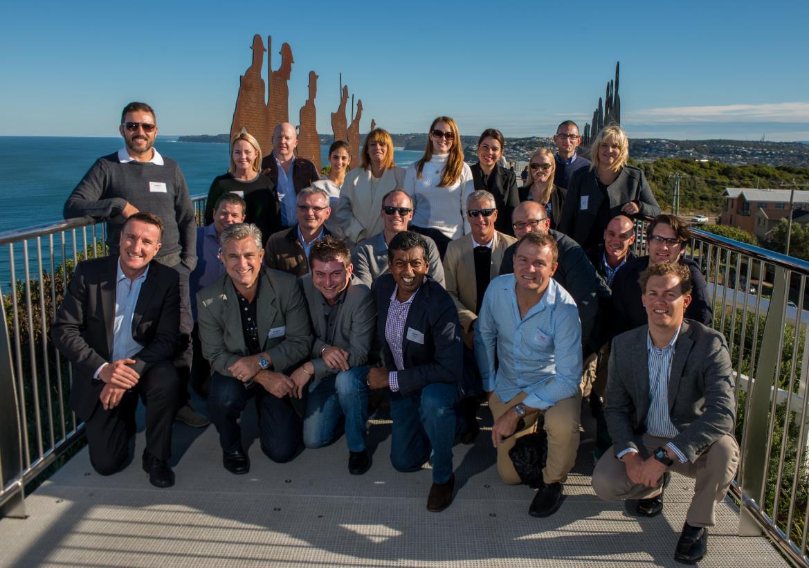PCA study tour delegates including North Queensland Manager, Orlando Pullin