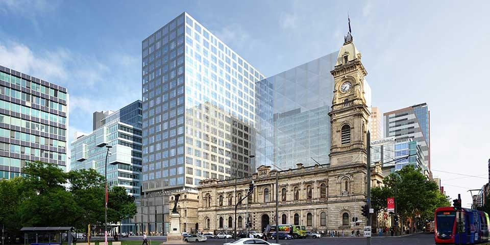 Adelaide's GPO Exchange