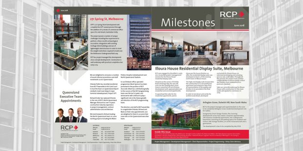 RCP Milestones June 2018