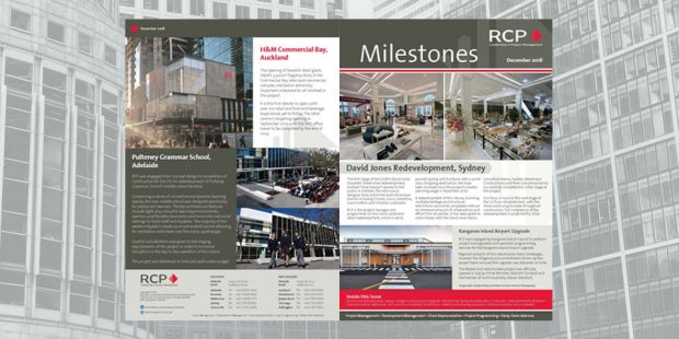 RCP Milestones Newsletter Dec 2018