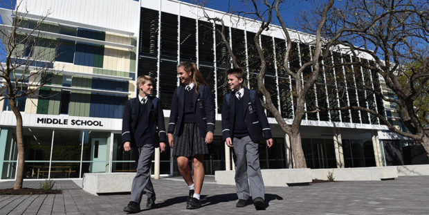 Pulteney Grammar Middle School Development