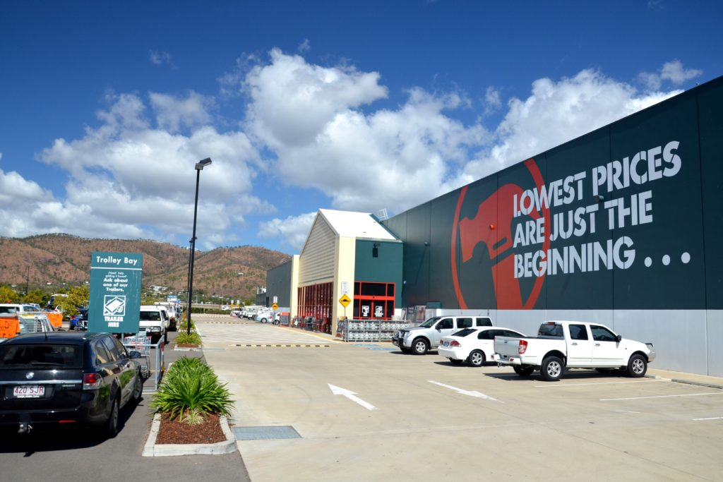 Bunnings Fairfield Waters % – RCP Australia