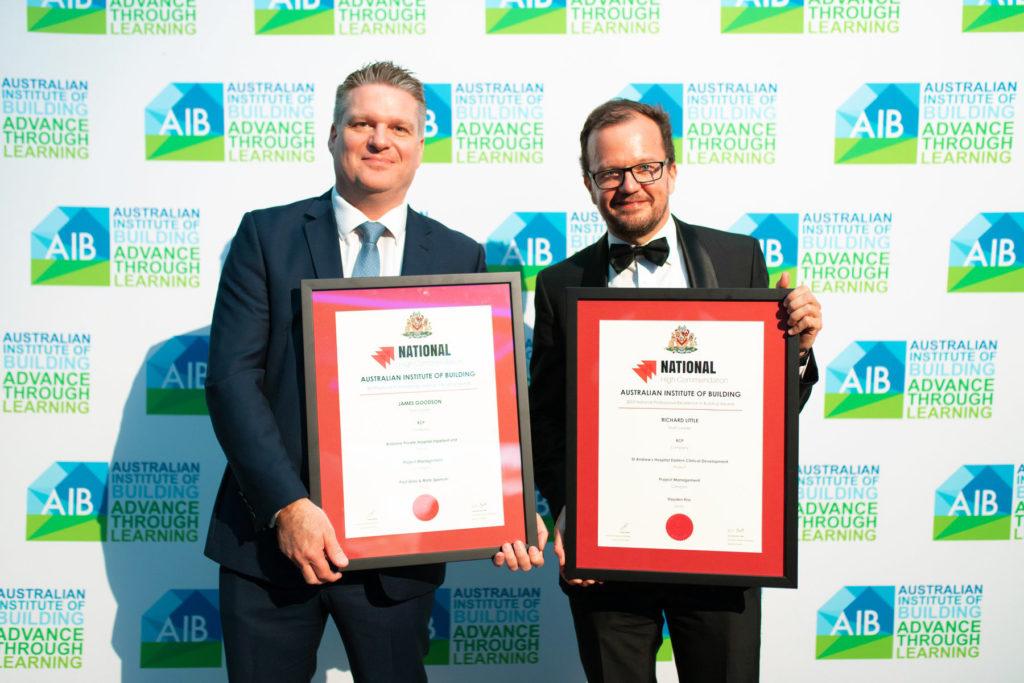 James Goodson & Richard Little AIB National High Commendation Award Win