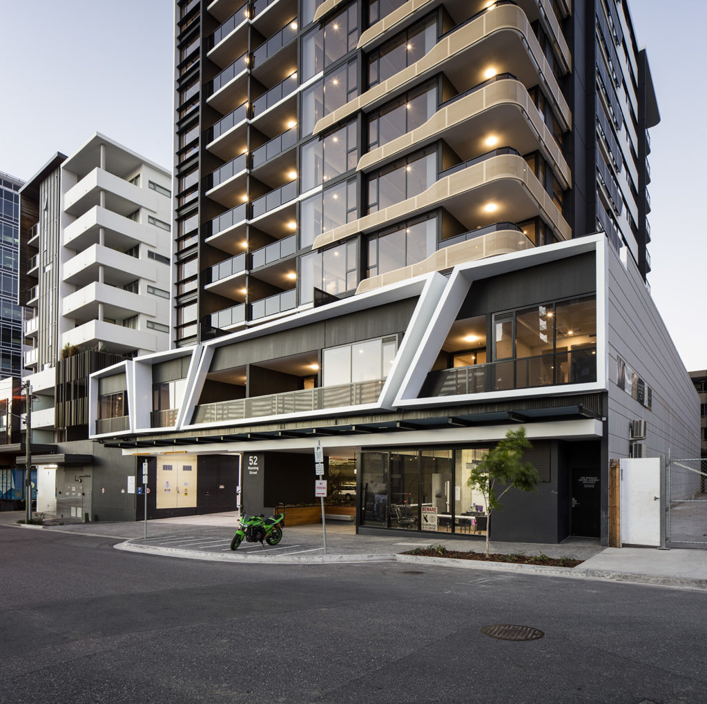 Atlas Apartments Stage 2 Manning Street entrance