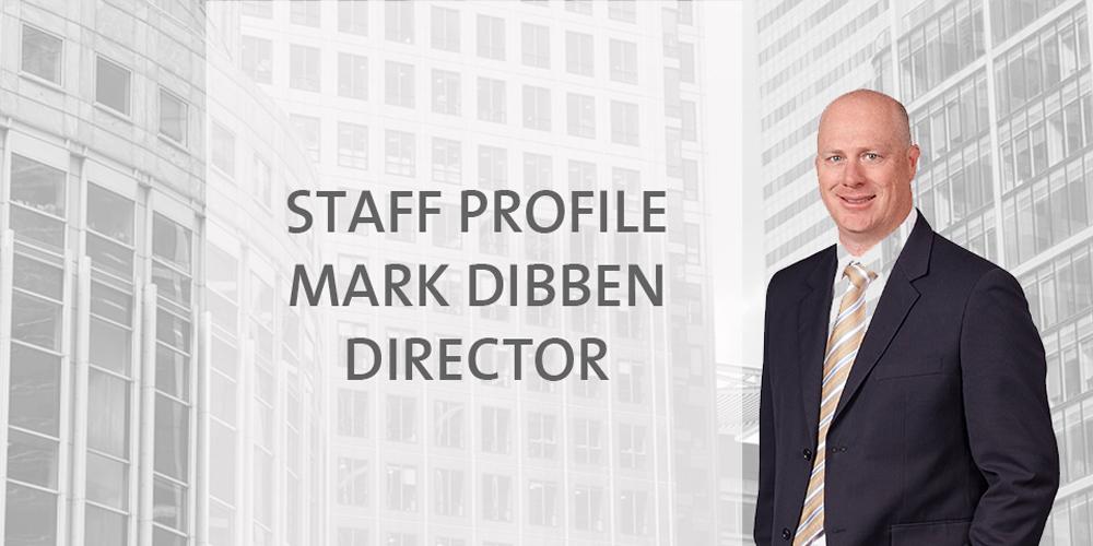 Staff Profile: Mark Dibben - Director