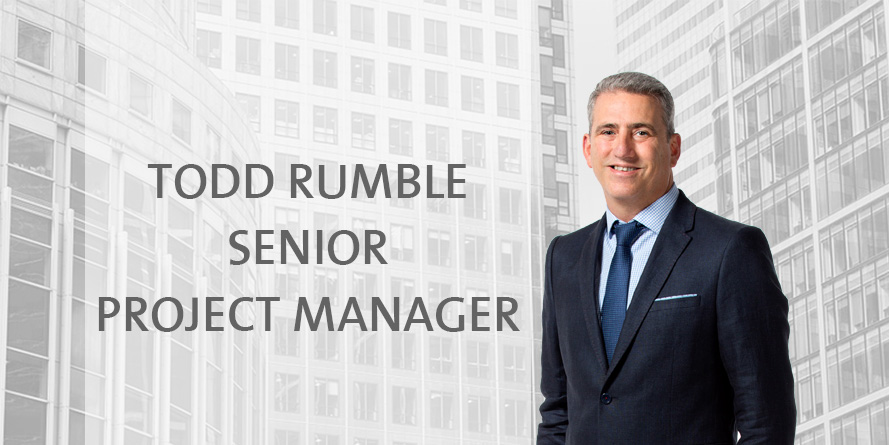 Staff Profile: Todd Rumble - Senior Project Manager