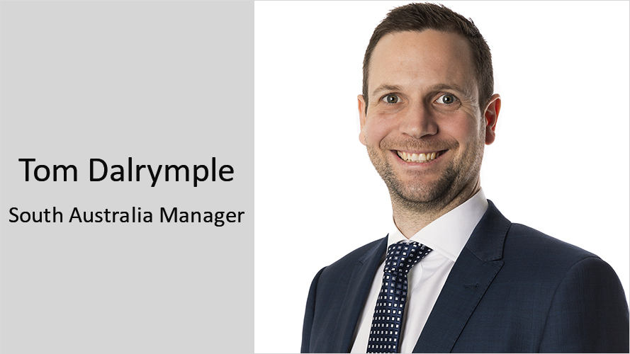 Tom Dalrymple RCP South Australia Manager Appointment